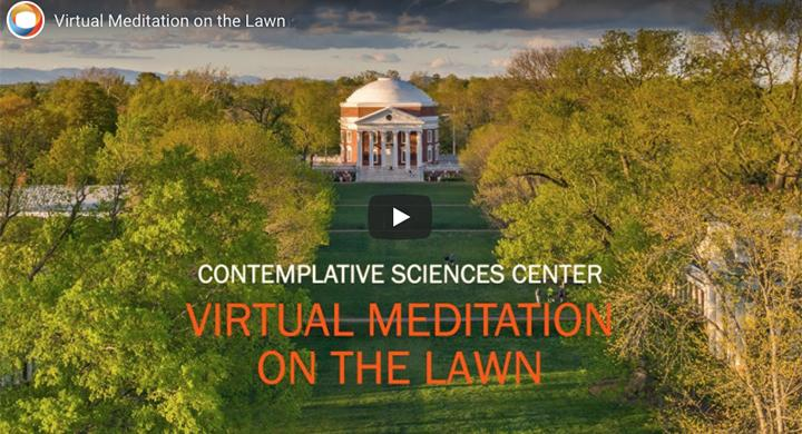 Student-Inspired Virtual Meditation on the Lawn Attracts Global Audience