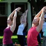 Summer Wellness Wednesdays at the Garden and Amphitheater