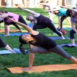 Free Yoga at the Amphitheater