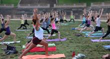 Spring In to Wellness: In-Person Amphitheatre Event