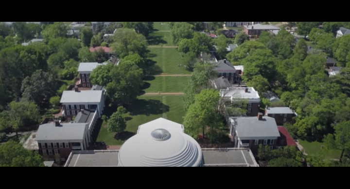 The University of Virginia Lawn and Academical Village