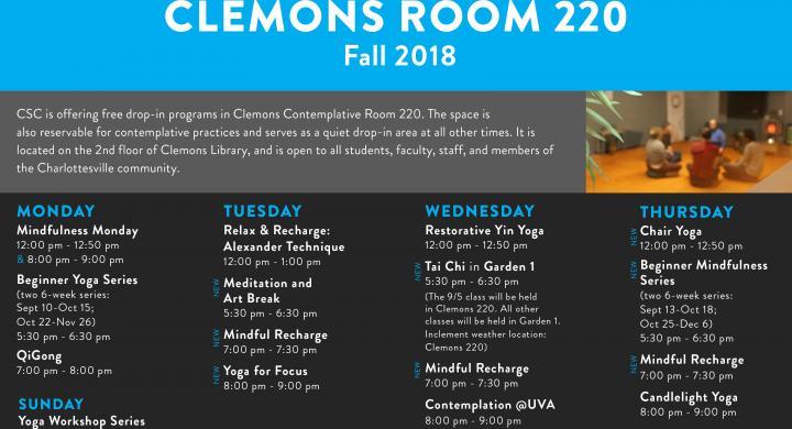 Clemons Poster F2018