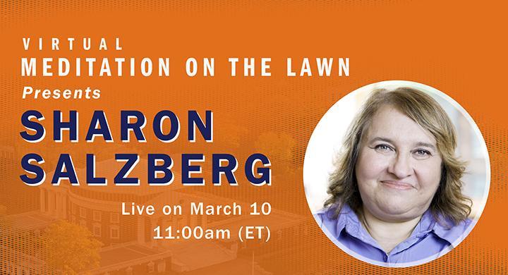 Live Meditation with Sharon Salzberg